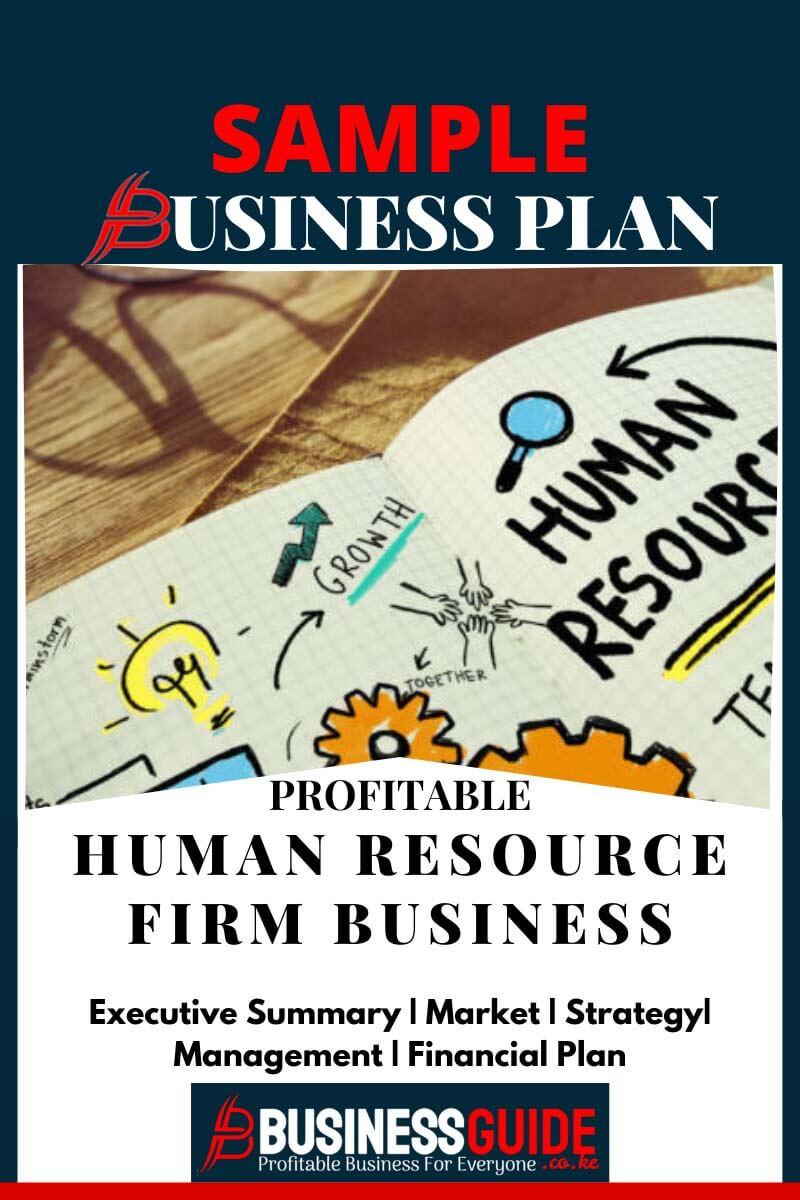 sample human resource plan for business pdf