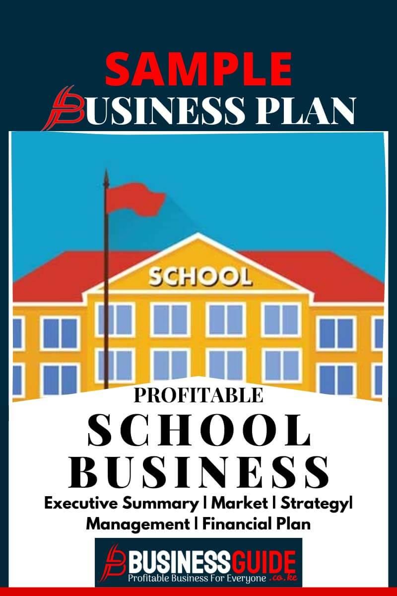 school business plan sample pdf