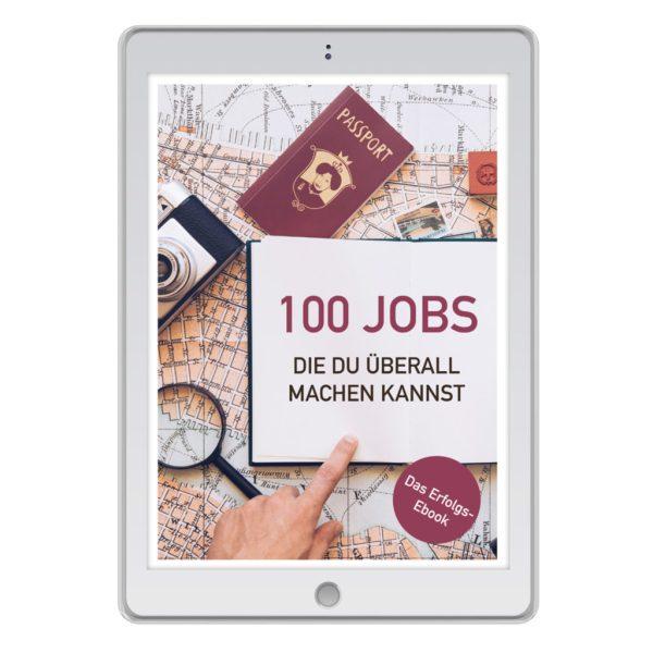 """E-Book """"100 Jobs, die du überall machen kannst"""""""