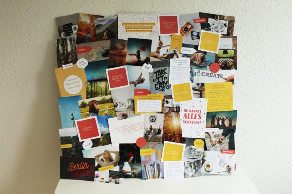 "Vision Board Layout-Set - ""Colors"""