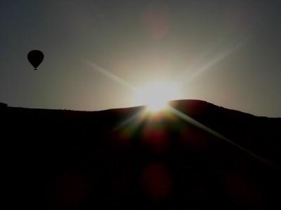 Sunrise whilst Cappadocia Ballooning