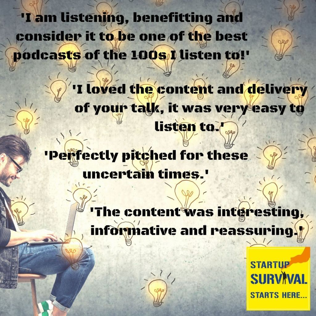 startup survival podcast