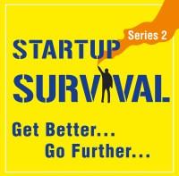Startup Podcast Logo Get better go further