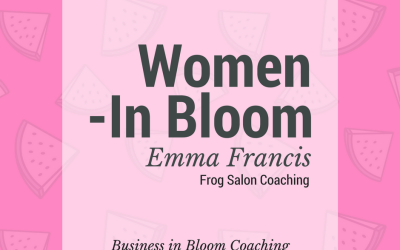Women in Bloom: Emma Francis