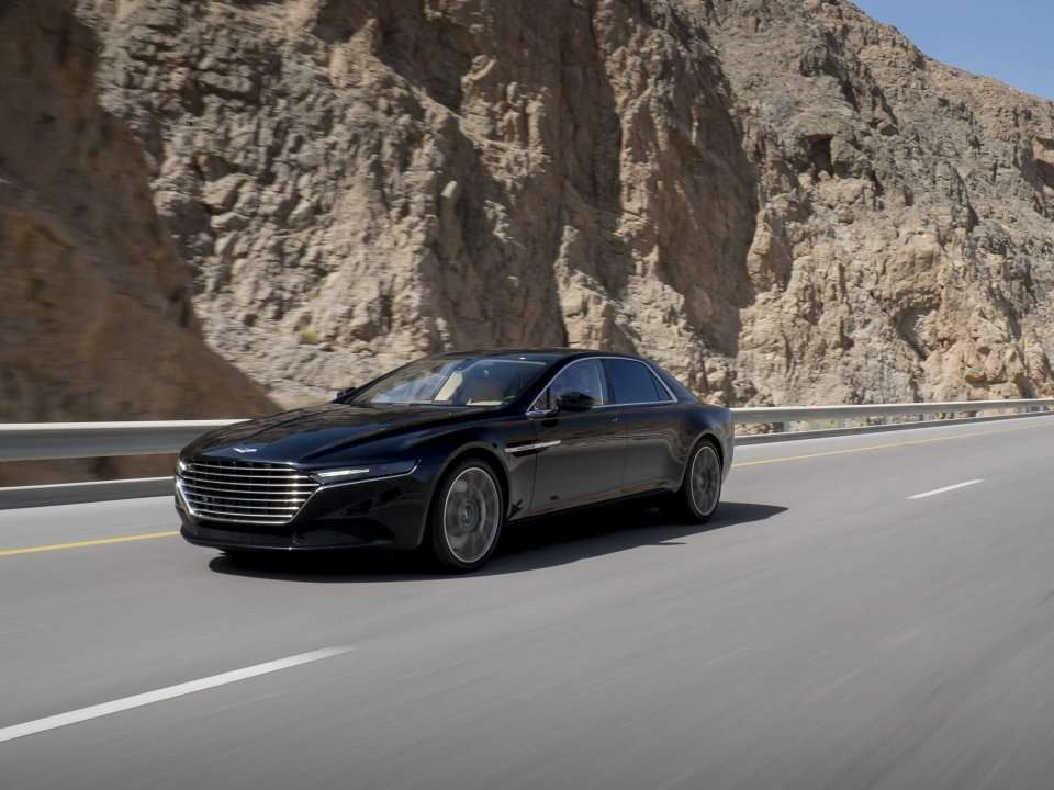 Aston Martin Just Released Its Sexy New Sedan - But You Can't Have One