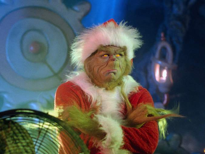Christmas movies that are actually great:  How the Grinch Stole Christmas