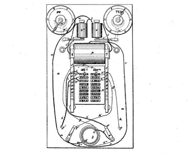 THE ELECTROGRAPHIC VOTE RECORDER: As Edison's first patent