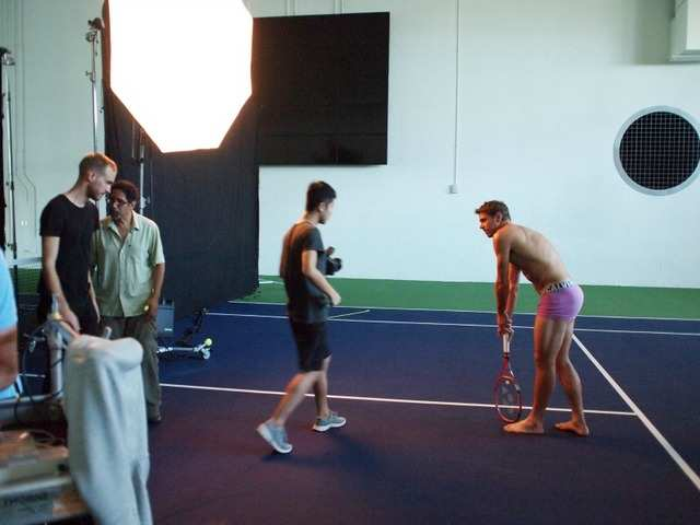 Behind the scenes of the terrific ESPNs Body Issue
