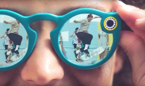 Spectacles aren't waterproof and the company says to avoid using them in extreme temperatures.