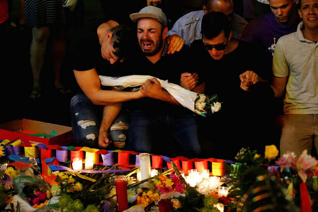 49 people were killed after a gunman inspired by ISIS went on a shooting rampage inside Pulse nightclub in Orlando, Florida. The tragedy sparked an outpouring of grief from the global LGBT community and vigils were held in cities around the world.