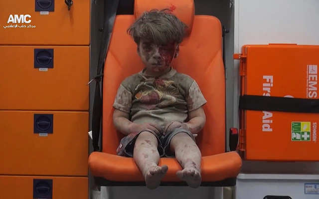 5-year-old Omran Daqneesh became a haunting symbol of the violence engulfing Syria. He was pulled from the rubble after his home was destroyed by Syrian and Russian airstrikes in eastern Aleppo.