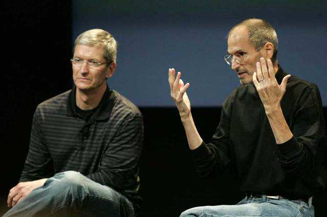 "In 2009, Tim Cook was tapped as interim CEO while Jobs took the first of three extended medical leaves. Even on Jobs' return, Cook became a regular at Apple keynotes. When Jobs returned, his prognosis was listed as ""excellent."""