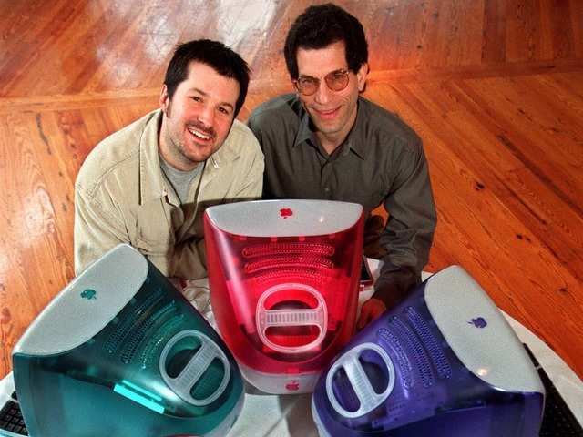 The iMac came in multiple colors, the first time the world would get a taste of Ive's computer design sensibilities. This first iMac was a much-needed hit, selling 800,000 units in its first five months.