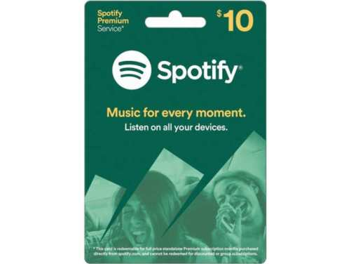 A Free Month of Their Favorite Music Streaming Service