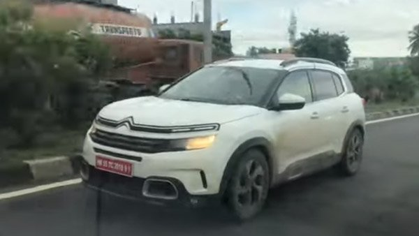 Citroen C5 Aircross Spied Testing: Citron C5 Aircross Testing India Launch Info