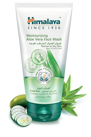 Himalaya Herbals Moisturizing Aloe Vera Face Wash