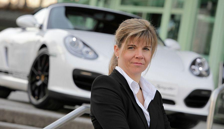 Porsche-Managerin Claudia Romberg