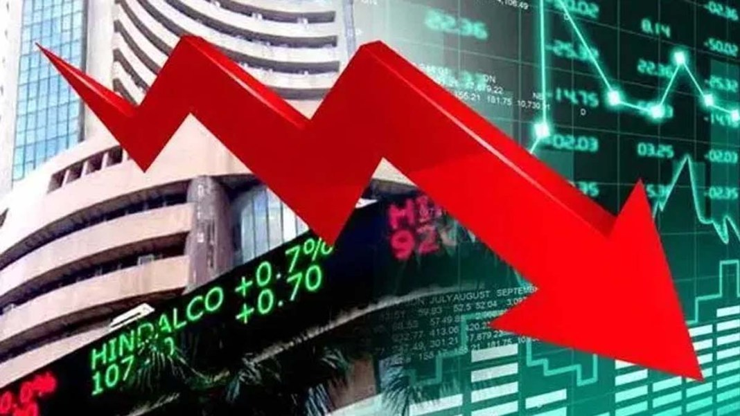 Sensex fell 67 points on profit recovery, global markets also declined