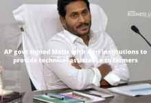 AP govt signed MoUs with Agri institutions to provide technical assistance to farmers