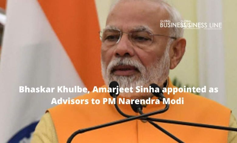Bhaskar Khulbe, Amarjeet Sinha appointed as Advisors to PM Narendra Modi