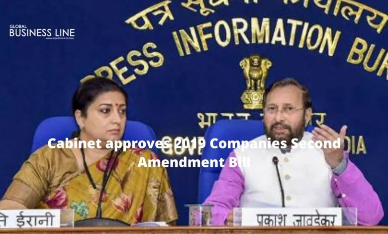 Cabinet approves 2019 Companies Second Amendment Bill