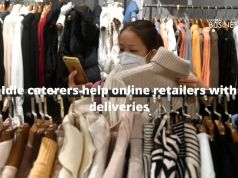 Idle caterers help online retailers with deliveries