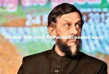 Former TERI chief RK Pachauri passed away
