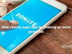 How charity apps may be making us more generous
