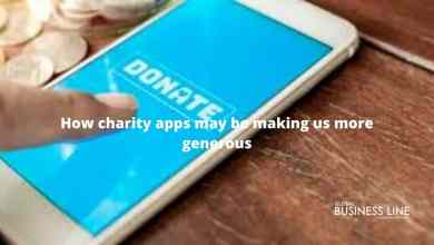 Photo of How charity apps may be making us more generous