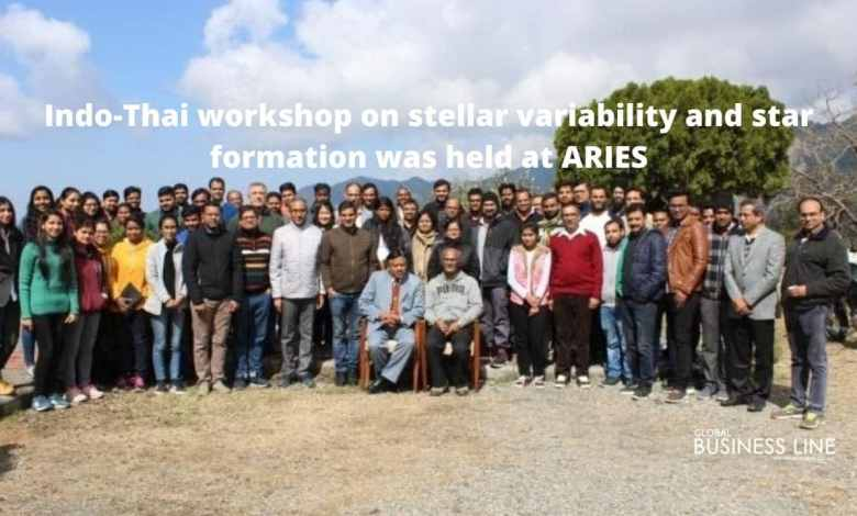 Indo-Thai workshop on stellar variability and star formation was held at ARIES