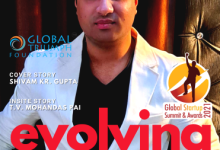 "Global Business line celebrating success story of Startups in ""Evolving Startups"""