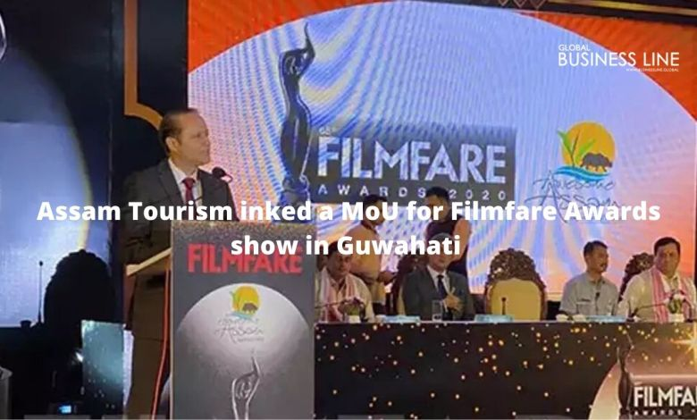Assam Tourism inked a MoU for Filmfare Awards show in Guwahati