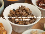 How business person are persuading Americans to eat bug protein