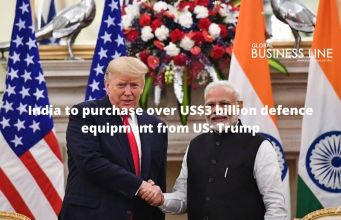 India to purchase over US$3 billion defence equipment from US: Trump