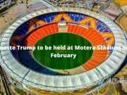 Namaste Trump to be held at Motera Stadium on 24 February