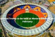 Namaste Trump to be held at Motera Stadium on 24 February