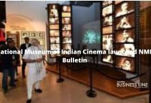National Museum of Indian Cinema launched NMIC Bulletin