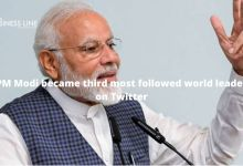 PM Modi became third most followed world leader on Twitter