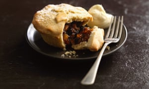 The winning pies combined buttery pastry with fruity mincemeat