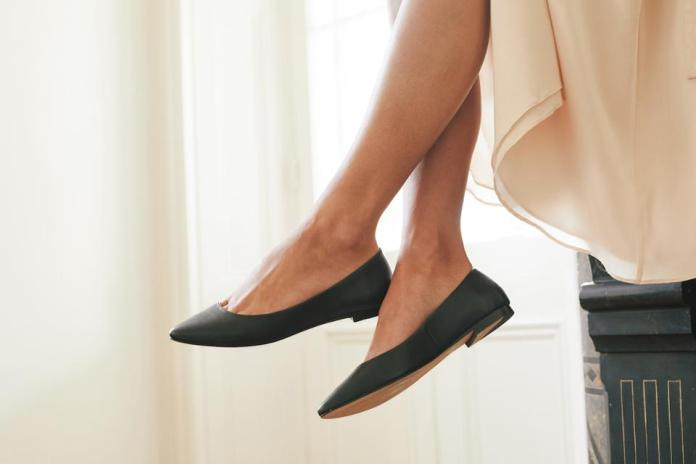 Ava Ballerina Flat from Nisolo