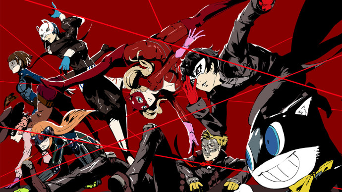Persona 5 group
