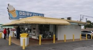 Photo of the Dairy Palace during the day