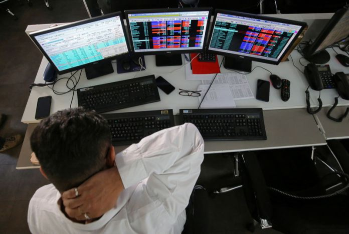 © Reuters.  India shares lower at close of trade; Nifty 50 down 0.07%