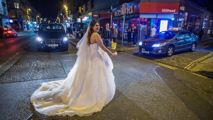 Byres Road bride