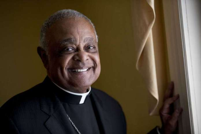 FILE - This Sunday, June 2, 2019, file photo shows Washington D.C. Archbishop Wilton Gregory posed for a portrait following mass at St. Augustine Church in Washington. Pope Francis has  named 13 new cardinals, including Washington D.C. Archbishop Wilton Gregory, who would become the first Black U.S. prelate to earn the coveted red cap. In a surprise announcement from his studio window to faithful standing below in St. Peter's Square, Sunday, Oct. 25, 2020, Francis said the churchmen would be elevated to a cardinal's rank in a ceremony on Nov. 28. Photo: Andrew Harnik, AP / Copyright 2019 The Associated Press. All rights reserved