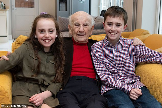 Sam Tenenbaum (pictured with two of his five great-grandchildren), from North London, got his jab two days after he turned 101. It was, his granddaughter Alyson Martin tells DR ELLIE CANNON, a 'huge relief'