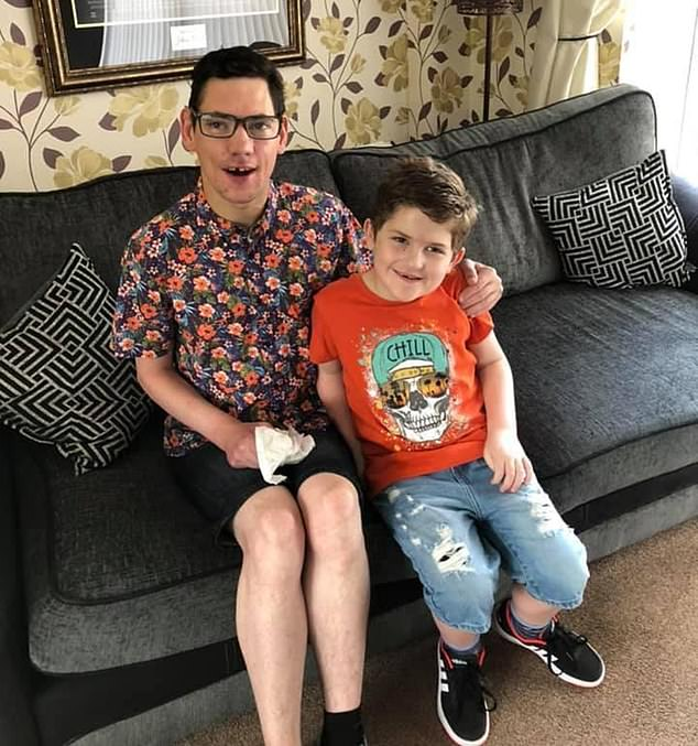 Jamie Walker, 30, from Durham, who is severely disabled and has cerebral palsy, has always feared needles, so his invitation for the Covid-19 injection sparked great trepidation