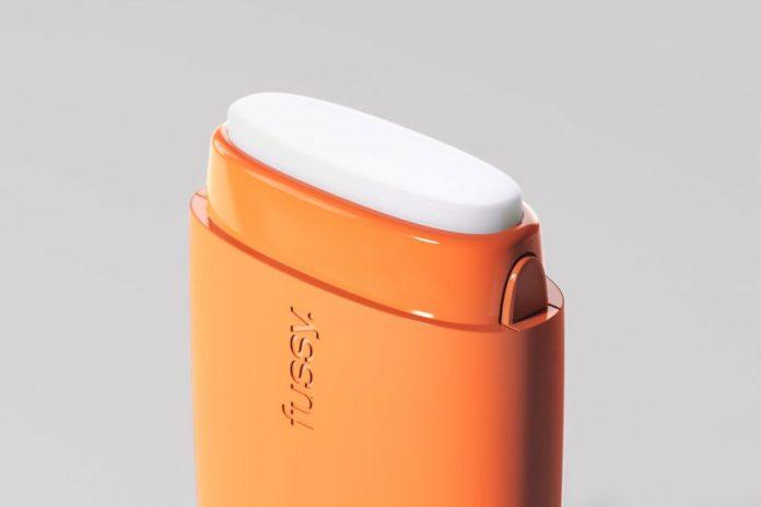 Burnt orange Fussy deodorant by Blond
