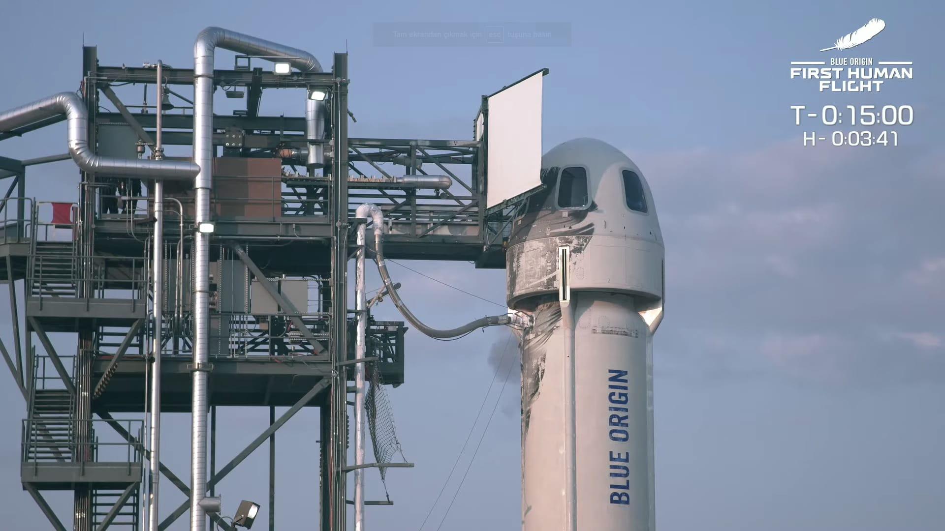 jeff bezos says blue origin sales of space tourist flights
