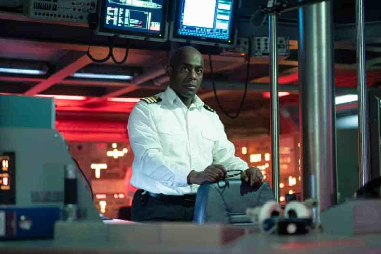 Paterson Joseph as submarine commander Newsome.